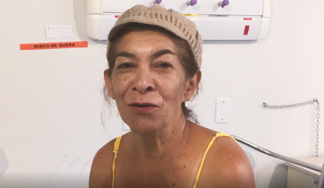 Paciente agradece ao HEELJ por acolhimento humanizado