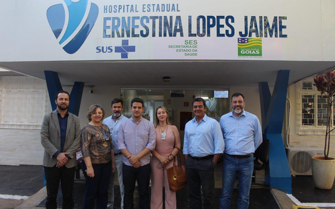 HEELJ recebe a visita do novo secretário de saúde do estado de Goiás