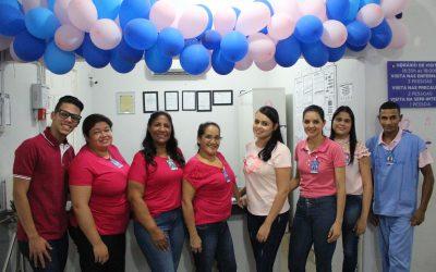 HEELJ fecha outubro com palestra de prevenção do câncer de mama e colo do útero