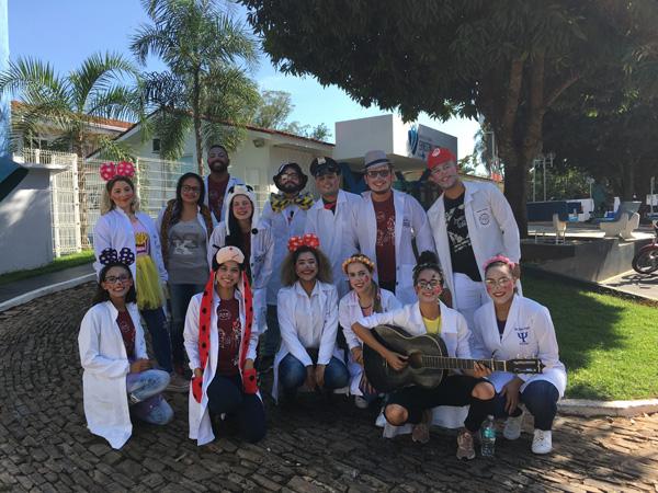 HEELJ recebe a visita do Grupo Alegria de Anápolis