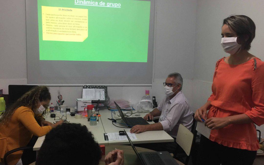 Recepcionistas do HEELJ fazem Workshop para humanizar o atendimento