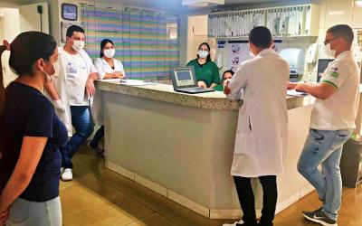 Profissionais do HEELJ recebem treinamento sobre ferramenta de avaliação clínica dos pacientes